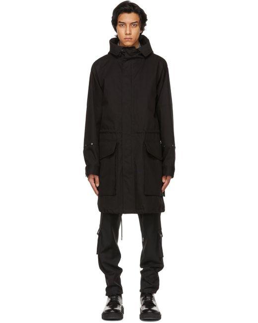 メンズ Givenchy ブラック Studio Homme パーカー Black