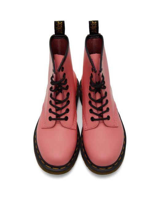 Dr. Martens ピンク 1460 ブーツ Pink