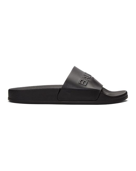 Balmain - Black Calypso Sandals - Lyst