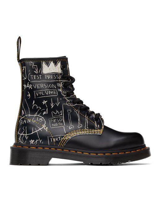 Dr. Martens Jean-michel Basquiat Edition ブラック 1460 ブーツ Black