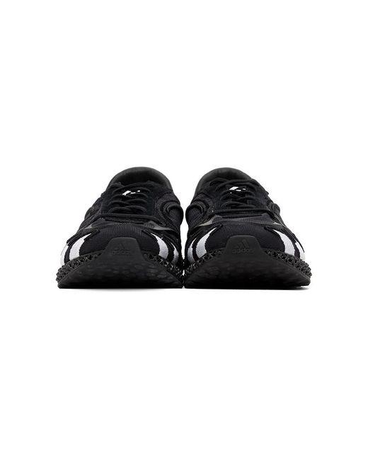 メンズ Y-3 ブラック Runner 4d スニーカー Black