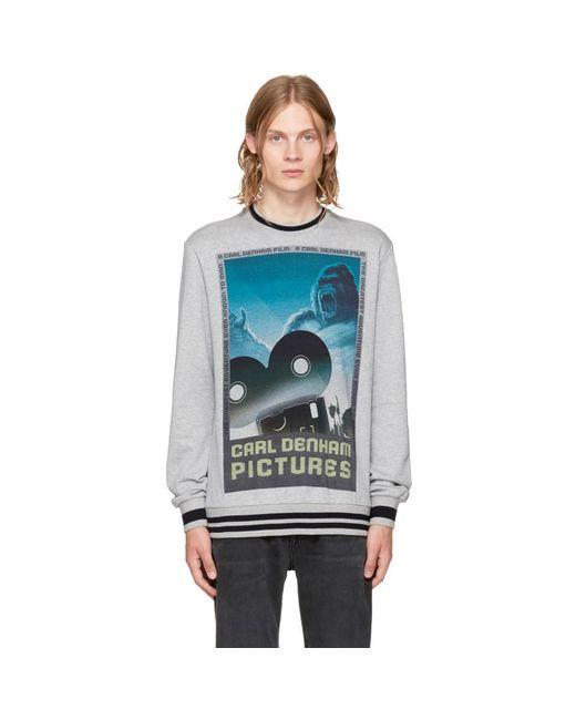 Dolce & Gabbana - Multicolor Black King Kong Sweatshirt for Men - Lyst