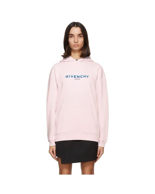 Givenchy ピンク ロゴ フーディ Pink