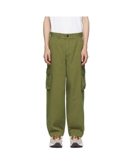 Wheir Bobson - Green グレー バギー カーゴ パンツ for Men - Lyst