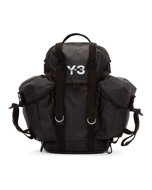 Y-3 - Black Xs Utility Backpack - Lyst