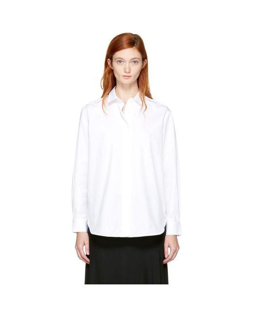 Totême  - White Capri Shirt - Lyst