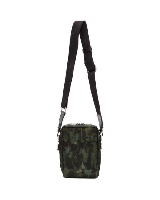 Dolce   Gabbana Green Camo Crossbody Bag in Green for Men - Lyst e3c7c07ef3640