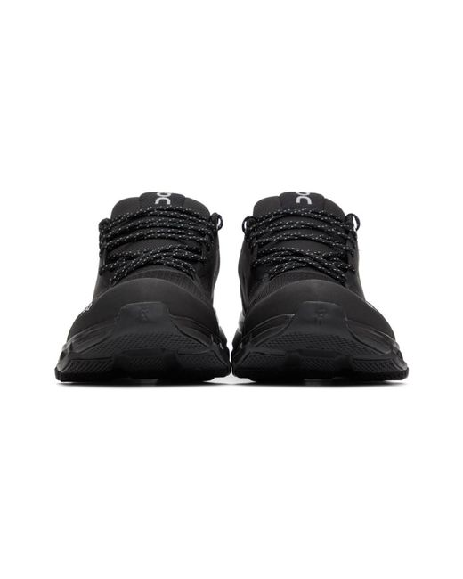 メンズ On ブラック Waterproof Cloudflyer スニーカー Black