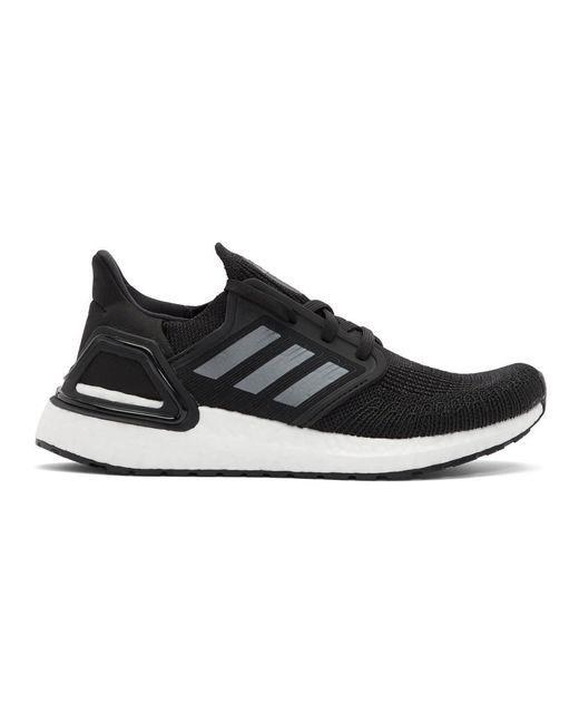 Adidas Originals ブラック Ultraboost 20 スニーカー Black