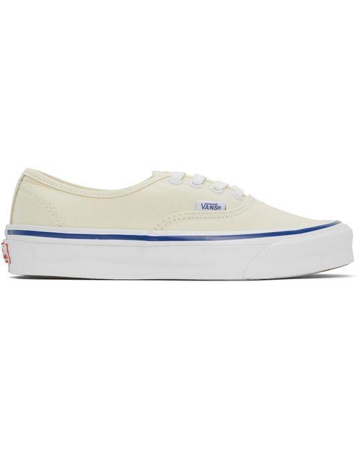 メンズ Vans オフホワイト Og Authentic Lx スニーカー White