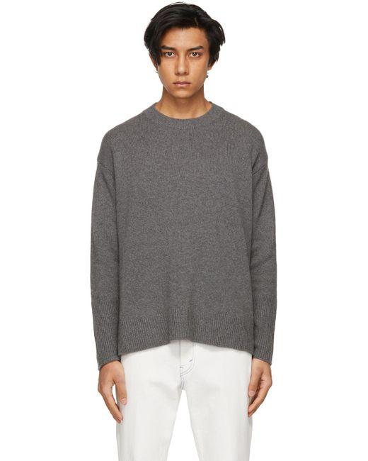 メンズ Stella McCartney Shared コレクション グレー リサイクル カシミア セーター Gray