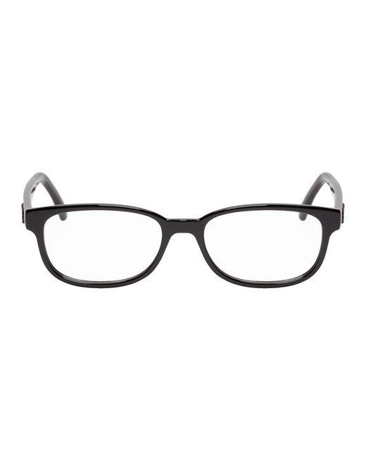 メンズ Saint Laurent ブラック Sl 320 メガネ Black