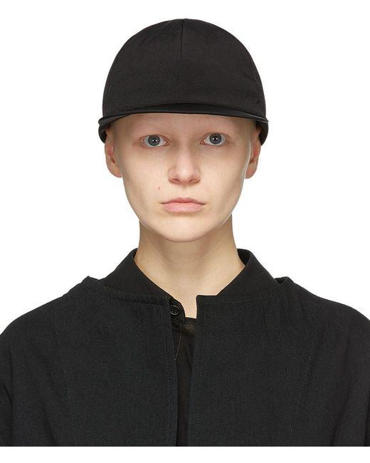 Y's Yohji Yamamoto ブラック Ribbon キャップ Black