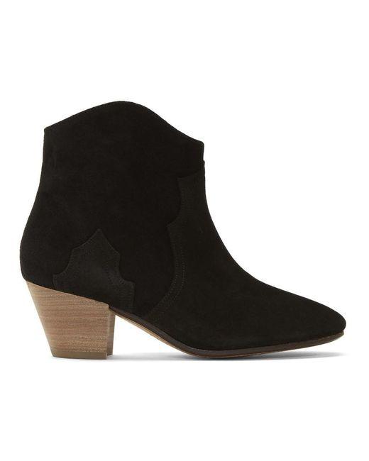 Isabel Marant ブラック Dicker ブーツ Black