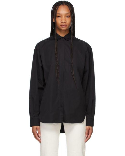 Totême  ブラック オーバーサイズ シャツ Black