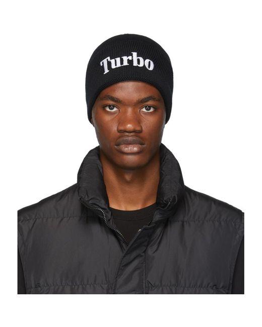 メンズ MSGM Turbo ビーニー Black