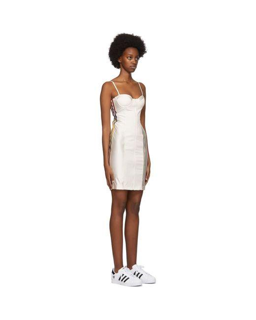 Adidas Originals Paolina Russo Edition オフホワイト コルセット ドレス White