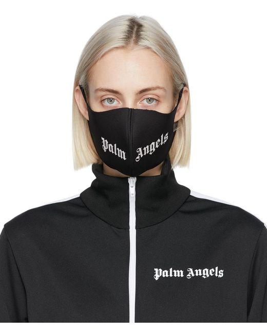 Palm Angels ブラック ロゴ マスク Black