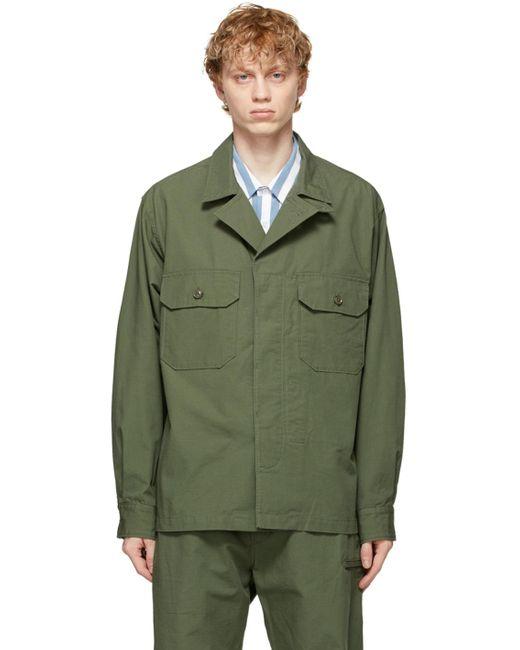メンズ Engineered Garments グリーン Mc シャツ Green
