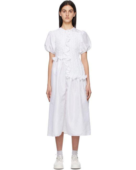 CECILIE BAHNSEN White Camden Dress