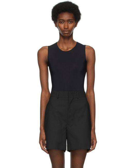 Maison Margiela ブラック Second Skin ボディスーツ Black