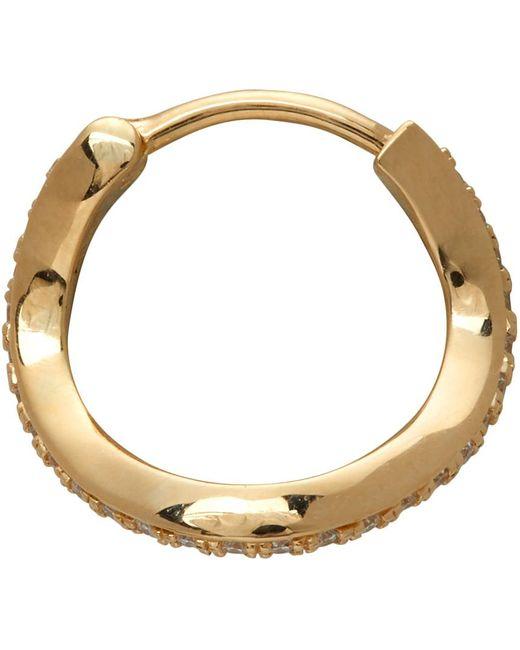 Boucle d'oreille à diamants dorée Daisy Ocean Sophie Bille Brahe en coloris Metallic