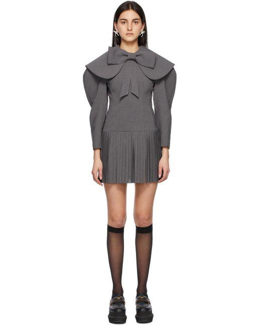 ShuShu/Tong グレー Low Waist ドレス Gray