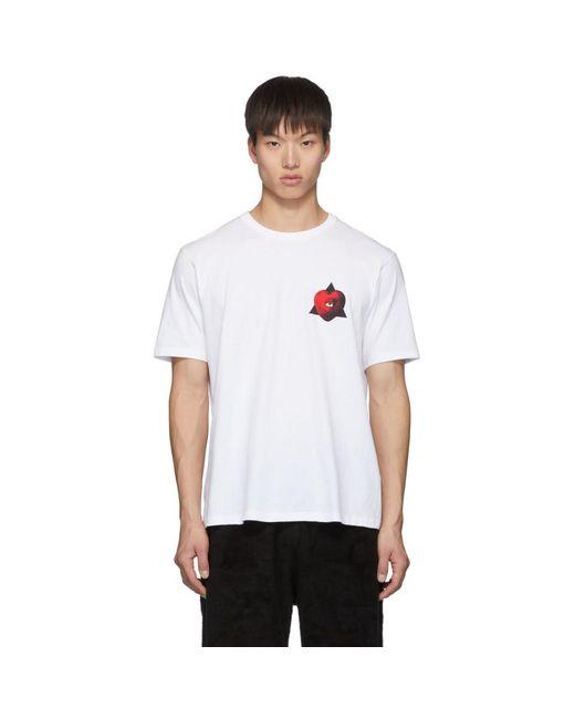 メンズ Undercover ホワイト Apple T シャツ White