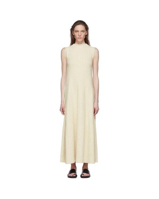 Lauren Manoogian オフホワイト ノースリーブ ドレス White