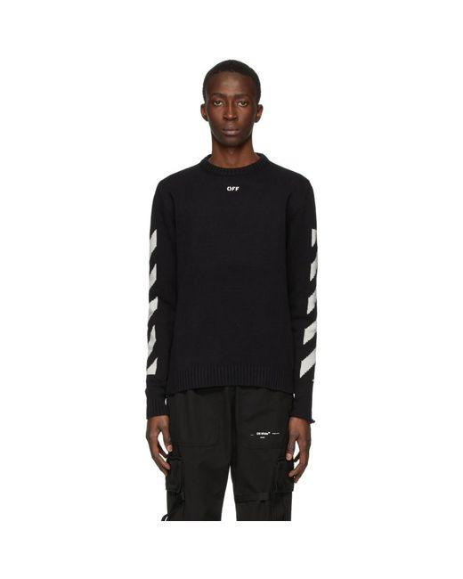 メンズ Off-White c/o Virgil Abloh ブラック Diag セーター Black