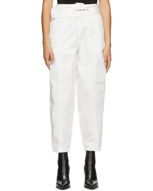 See By Chloé ホワイト Cocoon トラウザーズ White