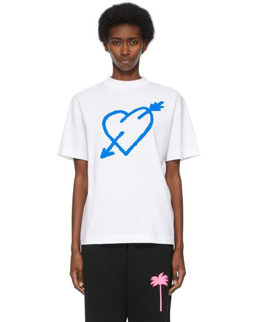 Palm Angels ホワイト T シャツ White
