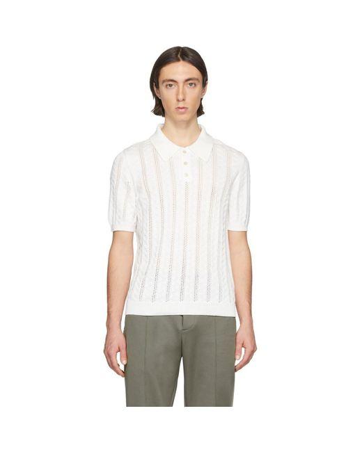 メンズ Maison Margiela ホワイト Ace ポロ White