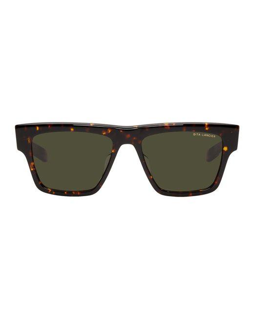 メンズ Dita Eyewear トータスシェル Lancier Lsa-701 サングラス Brown