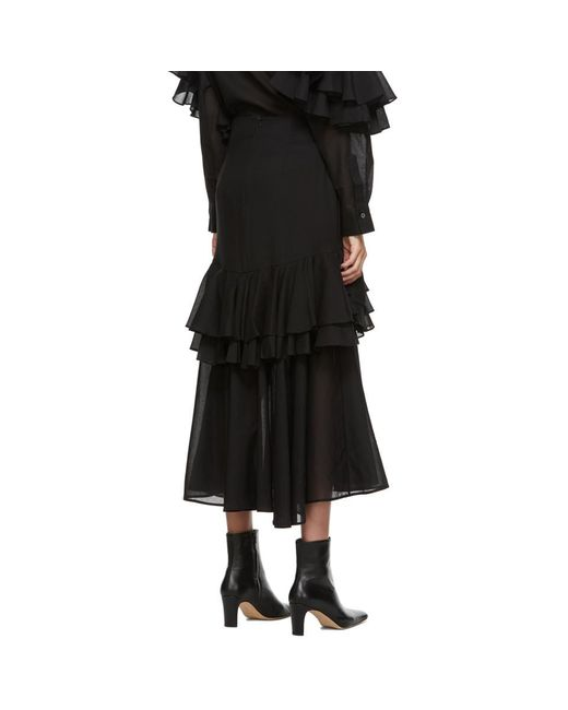 Totême  ブラック Coja スカート Black