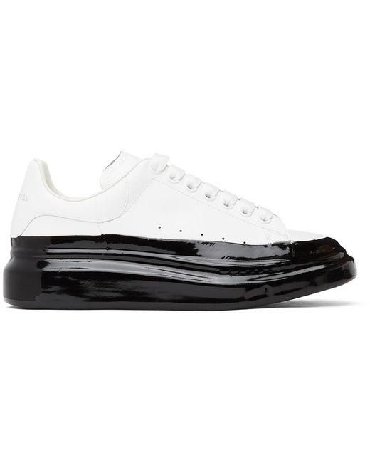 Baskets surdimensionnées blanches et noires Dipped Alexander McQueen pour homme en coloris White