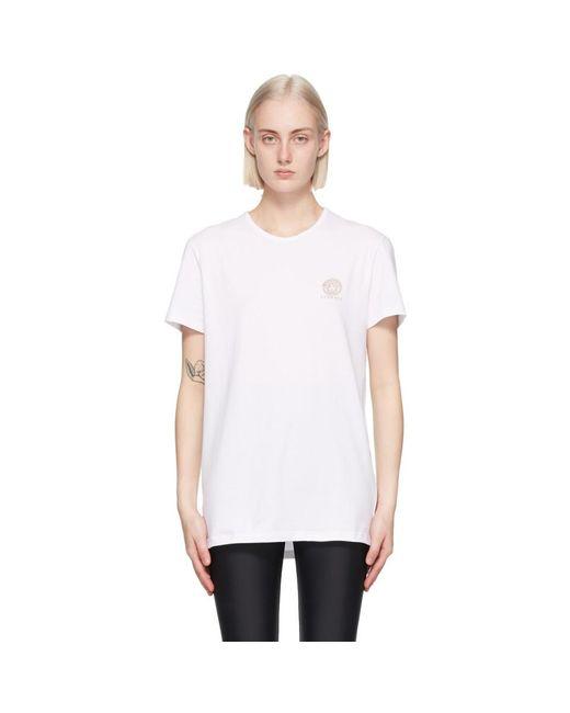 Versace ホワイト Medusa T シャツ White