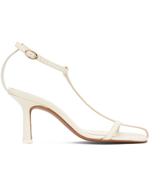 Neous Off-white Jumel 80 Heeled Sandals