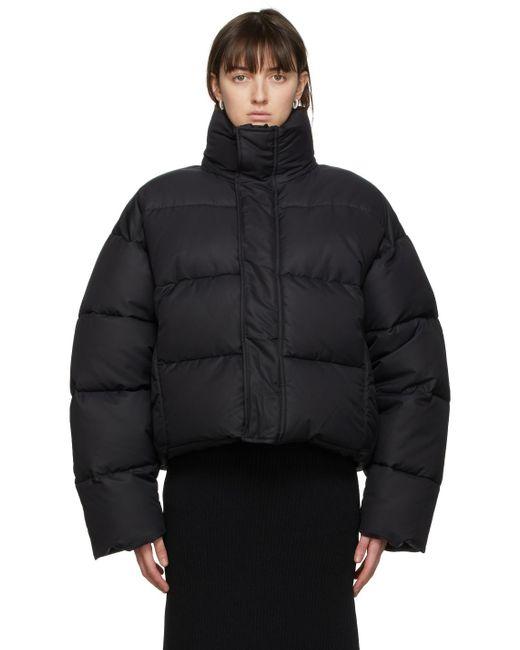 Balenciaga ブラック Bb パファー ジャケット Black