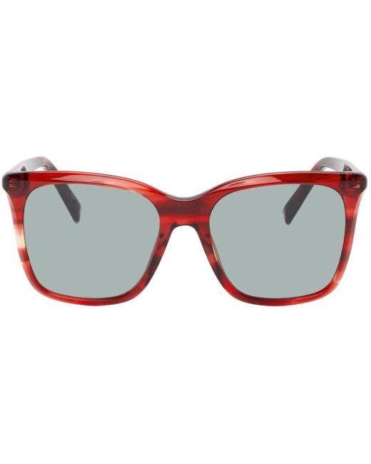 メンズ Givenchy レッド Gv 7199 サングラス Red
