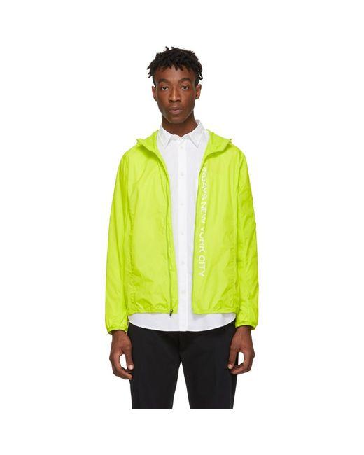 メンズ Saturdays NYC グリーン パッカブル Tatsu ウィンドブレーカー ジャケット Multicolor
