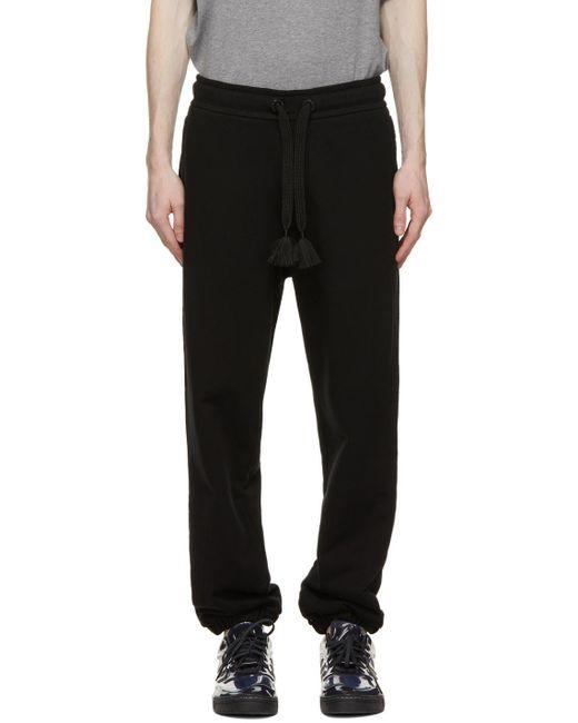 Moncler Genius 5 Moncler Craig Green Black Drawstring Lounge Pants for men