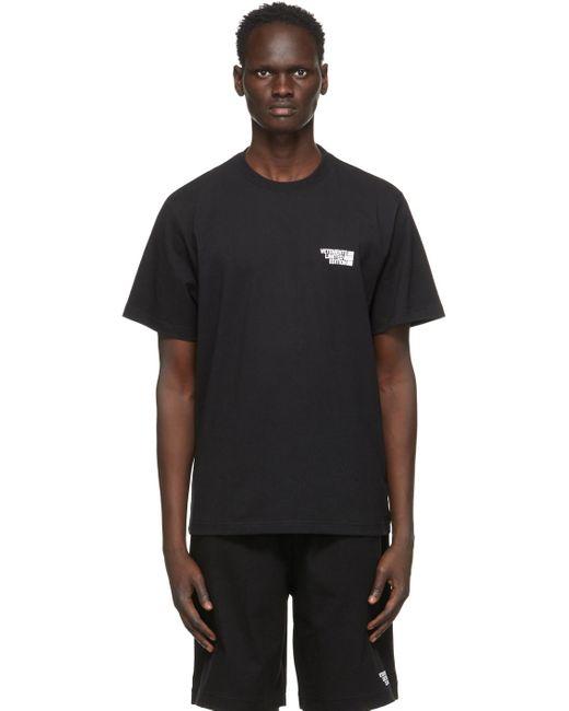 メンズ Vetements ブラック Limited Edition ロゴ T シャツ Black