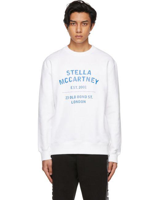 メンズ Stella McCartney ホワイト Obs 23 スウェットシャツ White