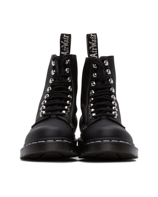 Dr. Martens ブラック 1460 Pascal ハードウェア ブーツ Black