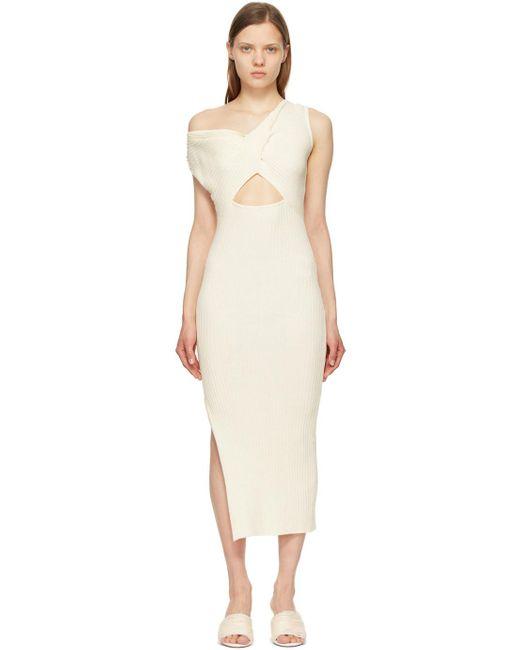 Anna Quan オフホワイト Zanita ドレス White
