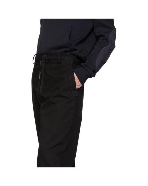 メンズ Moncler Genius 5 Moncler Craig Green ブラック コットン トラウザーズ Black