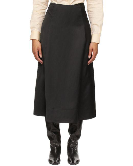 Totême  ブラック スカート Black