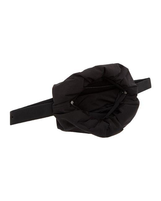 メンズ Bottega Veneta ブラック The Body ポーチ バッグ Black