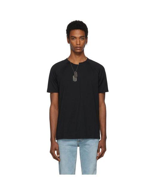 メンズ Givenchy ブラック スリム フィット チェーン T シャツ Black